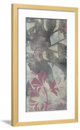 Leaf Dusting I-Jennifer Goldberger-Framed Premium Giclee Print