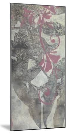 Leaf Dusting II-Jennifer Goldberger-Mounted Premium Giclee Print