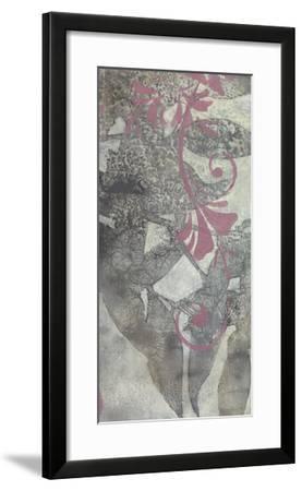 Leaf Dusting II-Jennifer Goldberger-Framed Premium Giclee Print