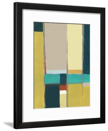 Urban Reflections II-June Vess-Framed Premium Giclee Print