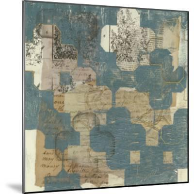 Deconstructed Quatrefoil I-Jennifer Goldberger-Mounted Premium Giclee Print