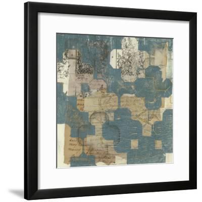 Deconstructed Quatrefoil I-Jennifer Goldberger-Framed Premium Giclee Print