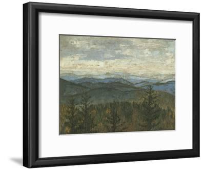 Blue Ridge View II-Megan Meagher-Framed Premium Giclee Print