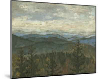 Blue Ridge View II-Megan Meagher-Mounted Premium Giclee Print