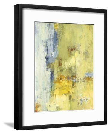Among the Yellows I-Janet Bothne-Framed Premium Giclee Print