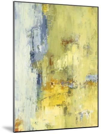 Among the Yellows I-Janet Bothne-Mounted Premium Giclee Print