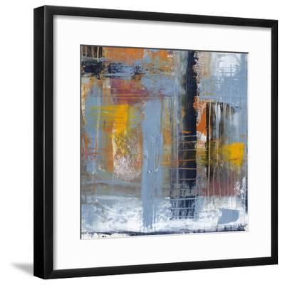 Urban Plan II-Jennifer Goldberger-Framed Premium Giclee Print