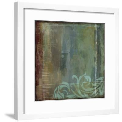 Lush Filigree IV-Jennifer Goldberger-Framed Premium Giclee Print