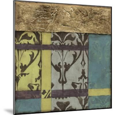 Jeweled Transom III-Jennifer Goldberger-Mounted Premium Giclee Print