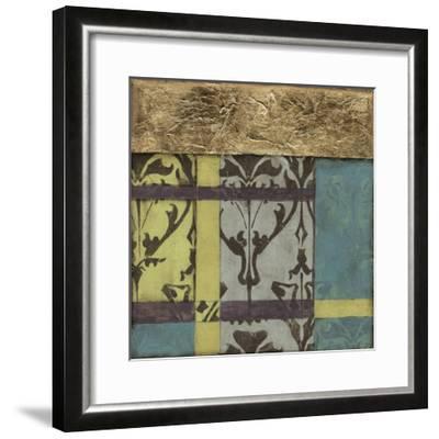 Jeweled Transom III-Jennifer Goldberger-Framed Premium Giclee Print