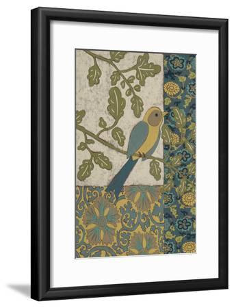 Avian Ornament I-Chariklia Zarris-Framed Premium Giclee Print