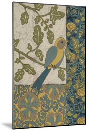 Avian Ornament I-Chariklia Zarris-Mounted Premium Giclee Print