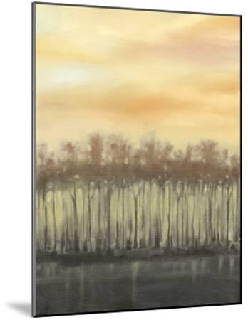Dusk in Autumn-Jennifer Goldberger-Mounted Premium Giclee Print