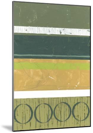 Precipice IV-Jennifer Goldberger-Mounted Premium Giclee Print