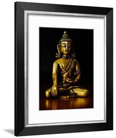 Asia Buddha Yoga Symbol-Wonderful Dream-Framed Art Print