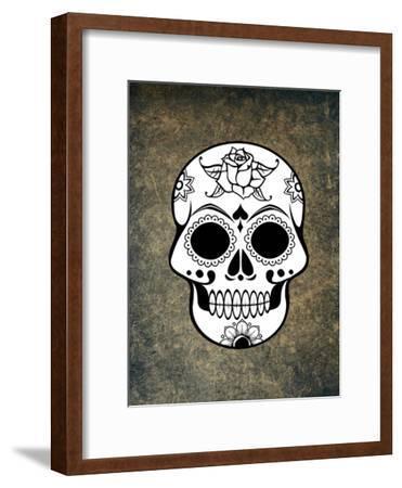 Fantasy Skull Horror Design-Wonderful Dream-Framed Art Print