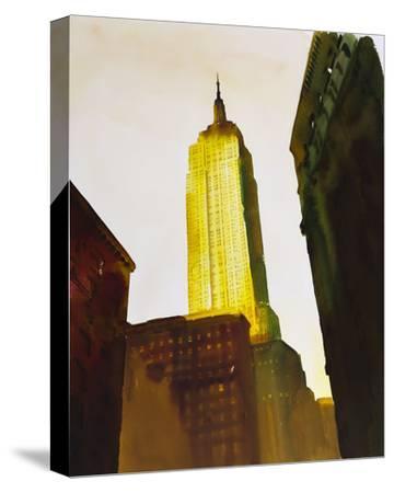 Skyscraper 1-Paulo Romero-Stretched Canvas Print