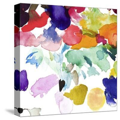Quentin-Bluebellgray-Stretched Canvas Print