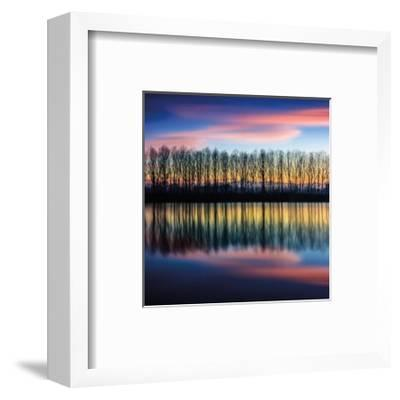 Twilight Silhouettes-Paolo De Faveri-Framed Giclee Print