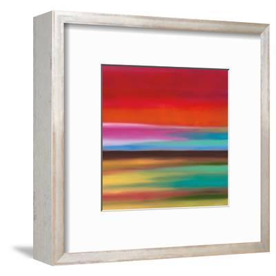 Red Skies-Mary Johnston-Framed Giclee Print