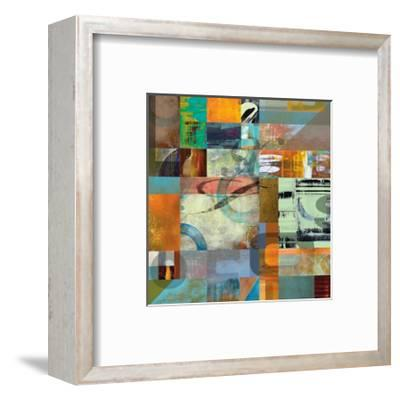 Letterforms 2-Barry Osbourn-Framed Giclee Print