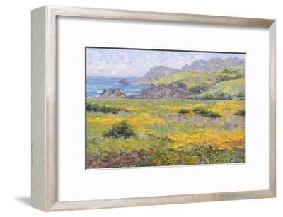 Golden Poppies-Dean Bradshaw-Framed Giclee Print