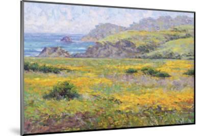 Golden Poppies-Dean Bradshaw-Mounted Giclee Print