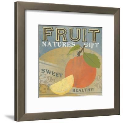 Farm Stand VII-June Erica Vess-Framed Art Print