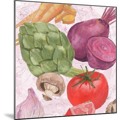 Veggie Medley I-Leslie Mark-Mounted Art Print