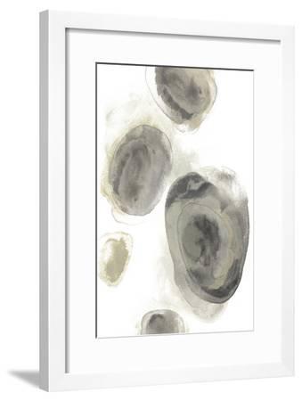 Water Stones II-June Erica Vess-Framed Art Print