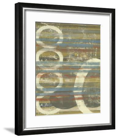 Textured Orbs II-Jennifer Goldberger-Framed Art Print