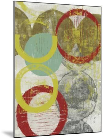 Layers & Circles II-Jennifer Goldberger-Mounted Giclee Print