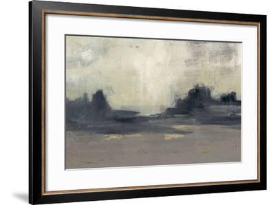 Mountain Silhouette I-Jennifer Goldberger-Framed Giclee Print