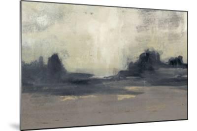 Mountain Silhouette I-Jennifer Goldberger-Mounted Giclee Print