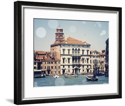 Venice Bokeh IV-Sylvia Coomes-Framed Art Print