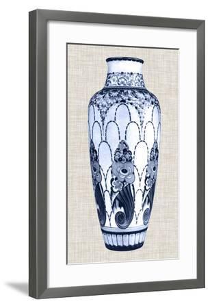 Blue & White Vase I-Unknown-Framed Giclee Print