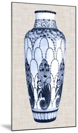 Blue & White Vase I-Unknown-Mounted Giclee Print