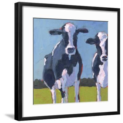 Cow Pals I-Carol Young-Framed Art Print