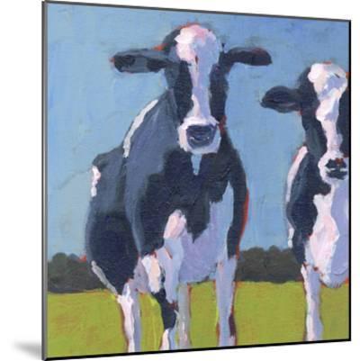 Cow Pals I-Carol Young-Mounted Art Print