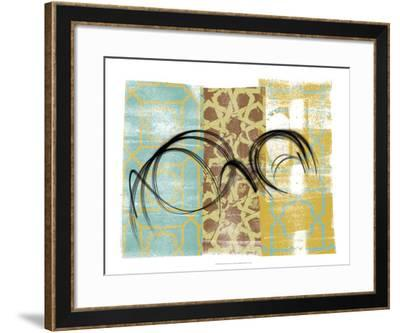 Swirling II-Alonzo Saunders-Framed Art Print