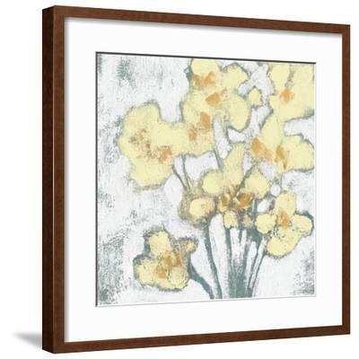 Buttercups II-Jennifer Goldberger-Framed Art Print