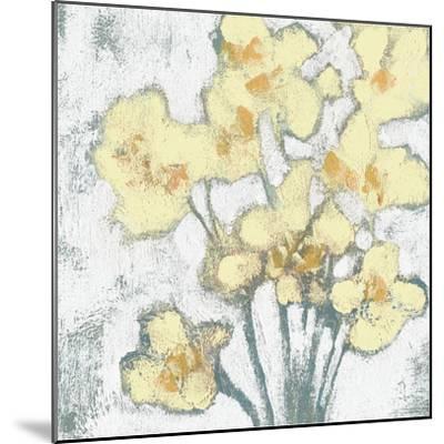 Buttercups II-Jennifer Goldberger-Mounted Art Print