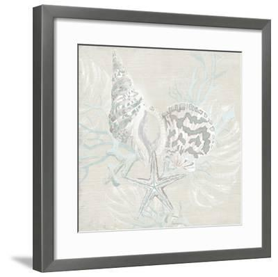 Weathered Shell Sketch II-June Erica Vess-Framed Giclee Print