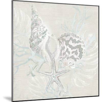 Weathered Shell Sketch II-June Erica Vess-Mounted Giclee Print