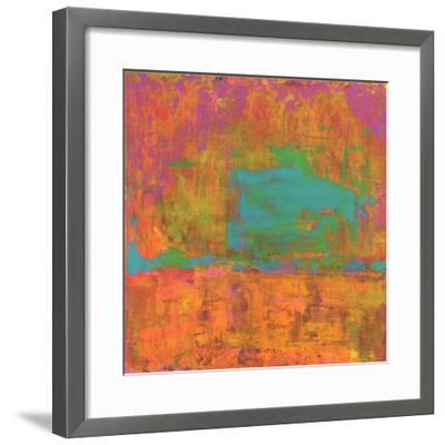 Hifi Abstract II-Elena Ray-Framed Art Print