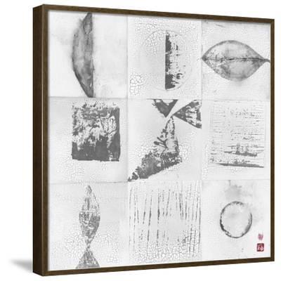 Minimalism 9-Patch-Elena Ray-Framed Art Print