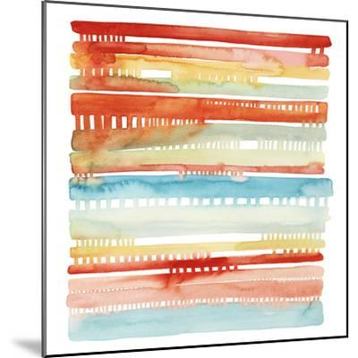 Connected Lines I-Grace Popp-Mounted Art Print