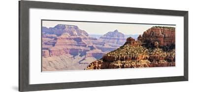 Grand Canyon Panorama V-Sylvia Coomes-Framed Art Print