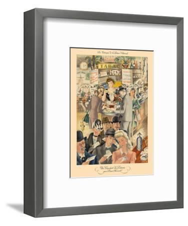 French National Loterie (La Nationale Loterie)-Louis Ferrand-Framed Art Print