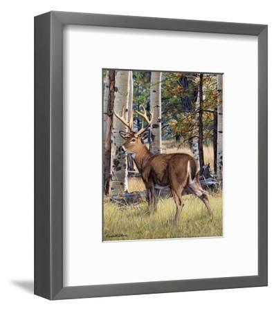 Fall Whitetail-Russell Cobane-Framed Art Print